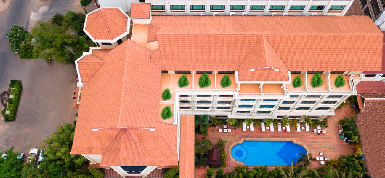 Top View of Monoreach Angkor Hotel